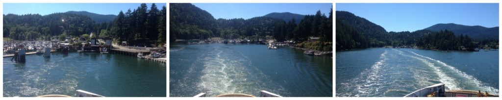 Leaving Bowen Island