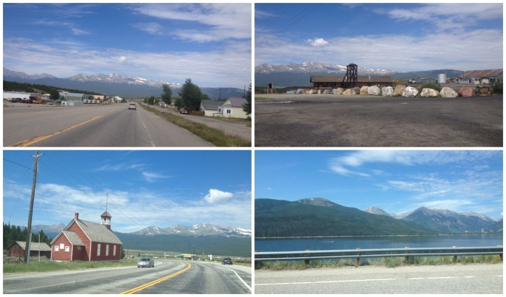 Leaving Leadville on the way to Granite past Twin Lakes