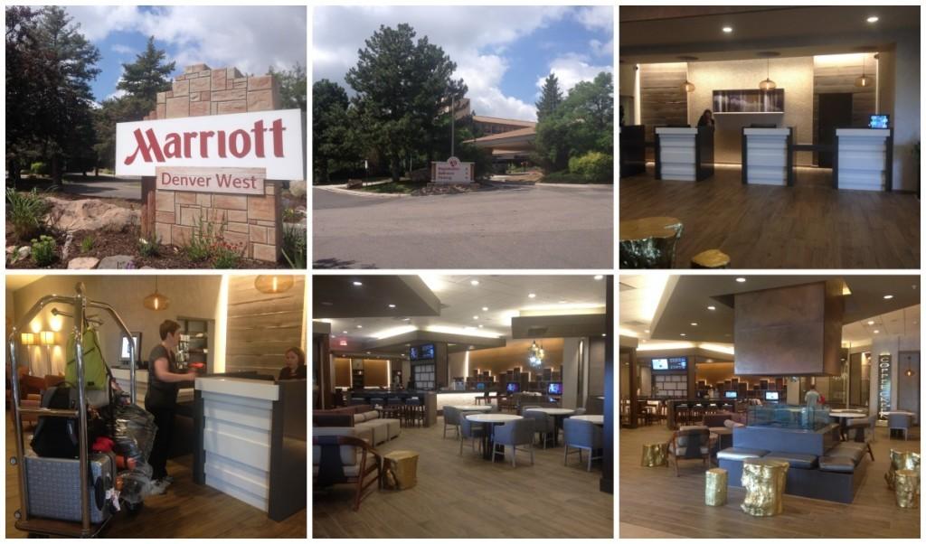 Marriott Denver West, check-in.