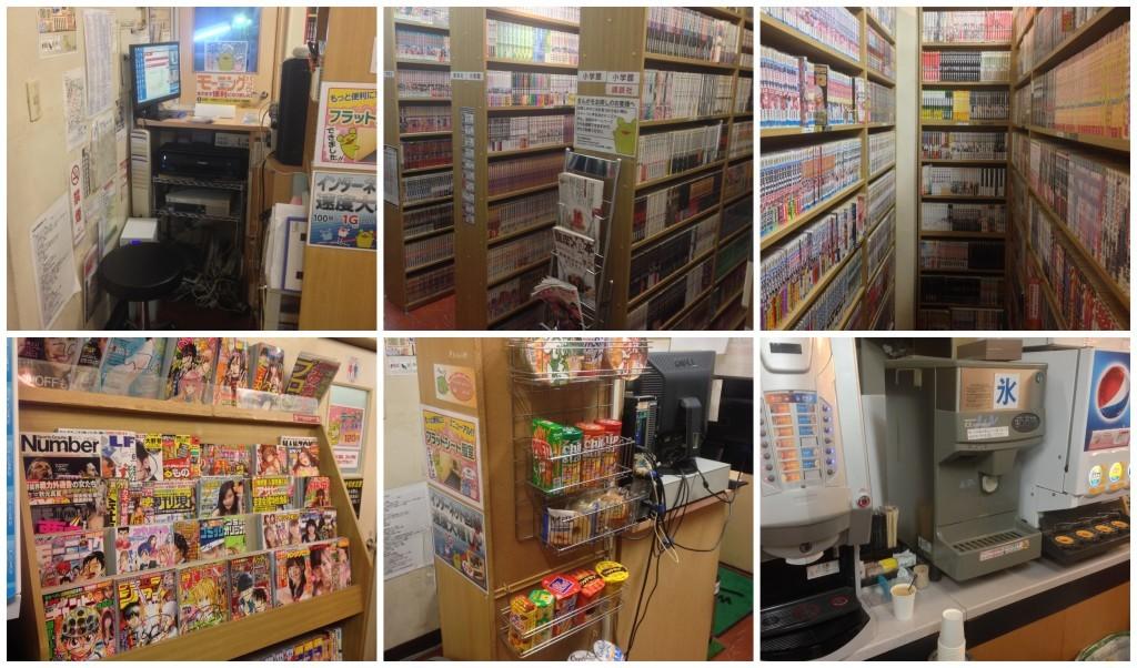 Reception, beverages & snacks and lots of manga at Manga