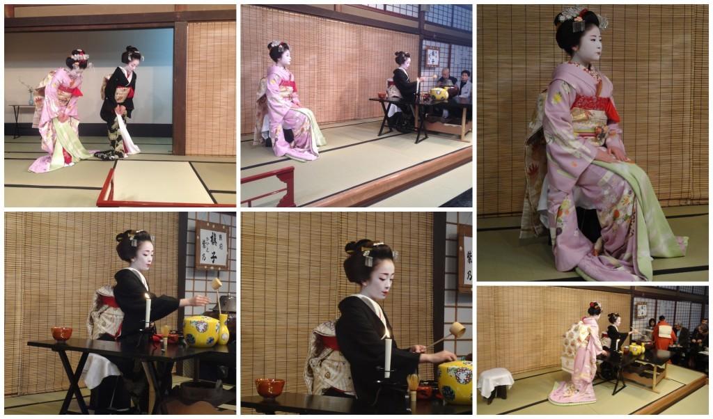 Tea ceremony before the Miyako Odori performance