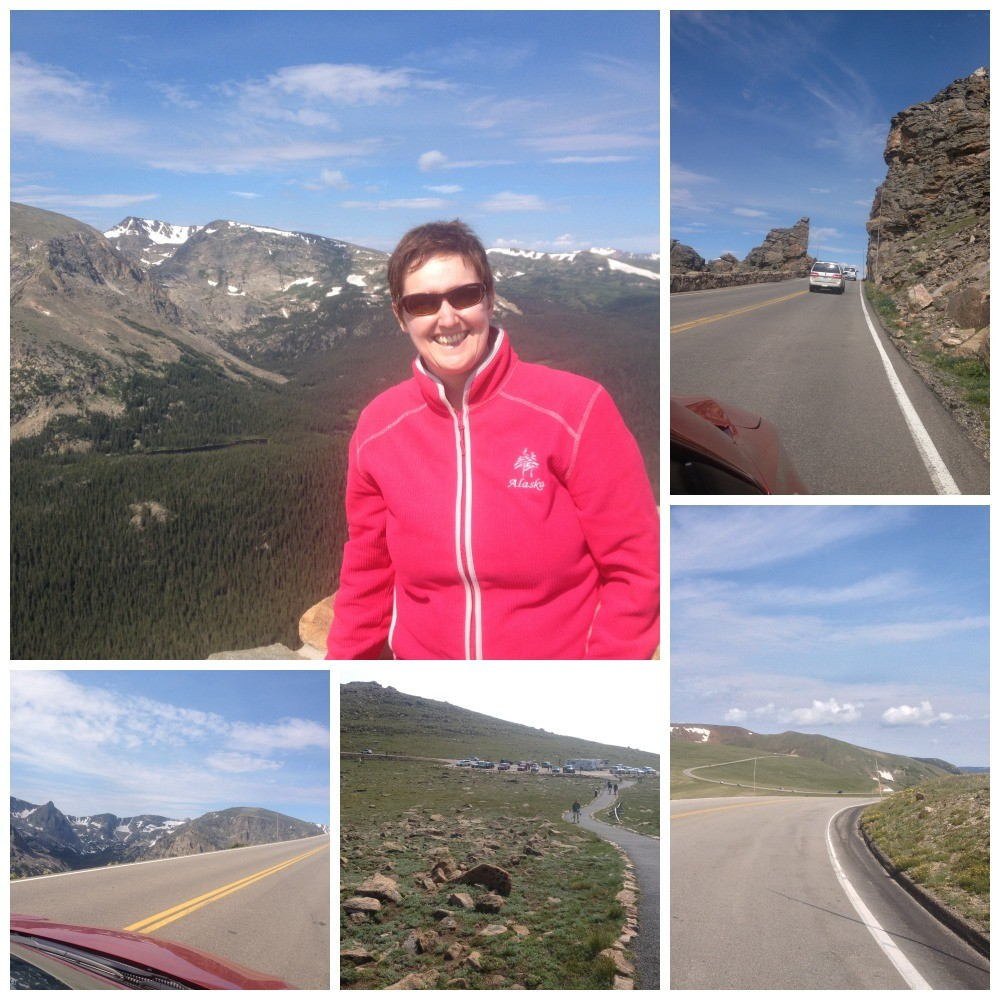 The Alpine Tundra on to the highest point
