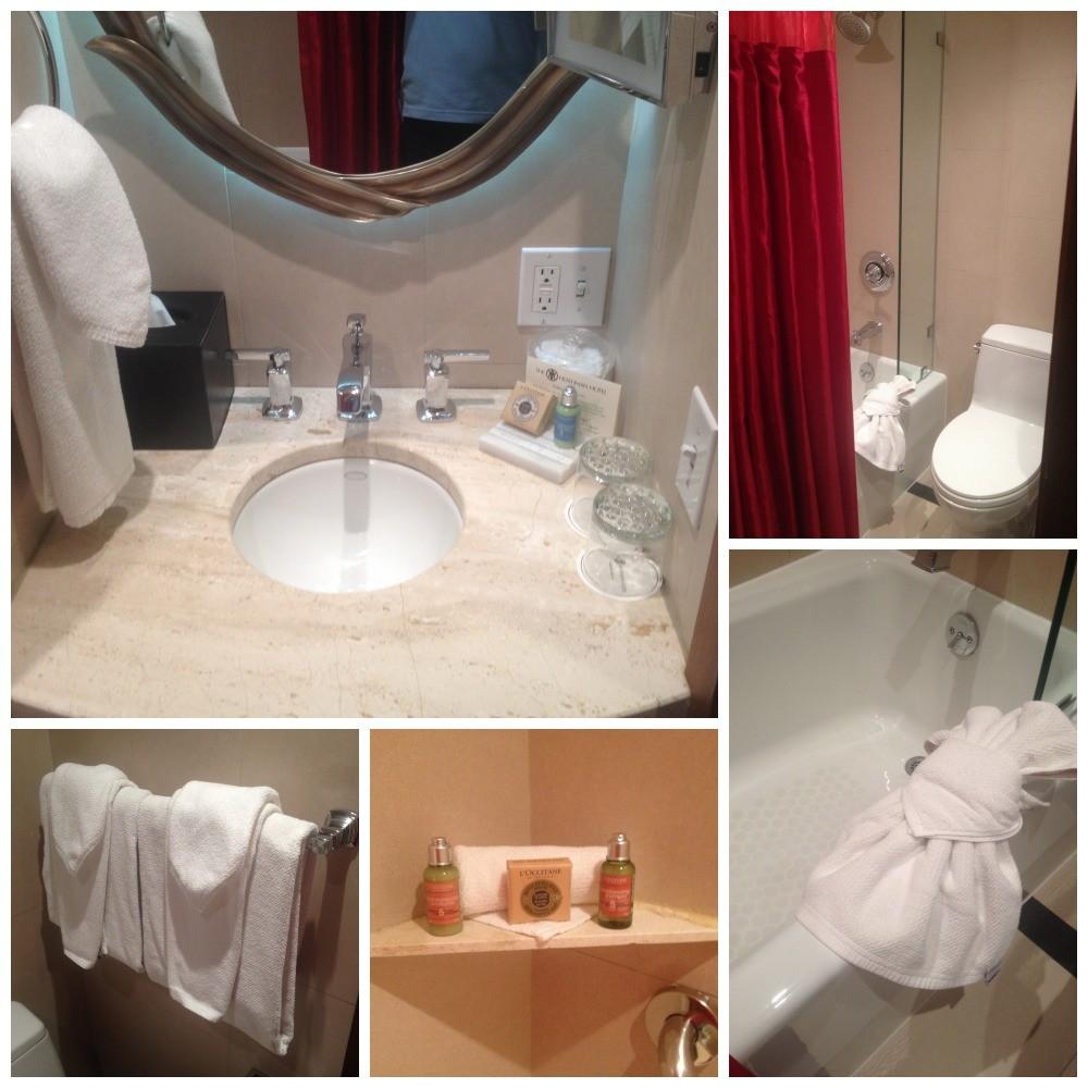 The Heathman Hotel Bathroom