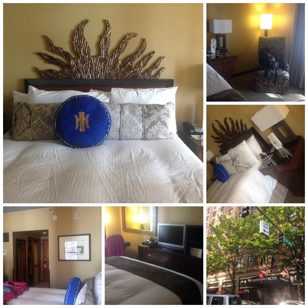 The Heathman Hotel in Portland