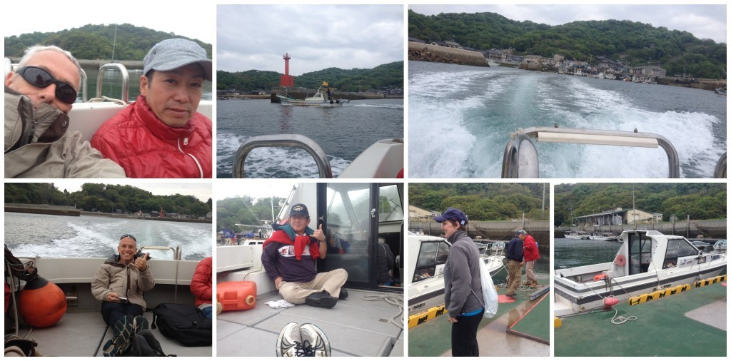 The ride back to Shiraishi Island