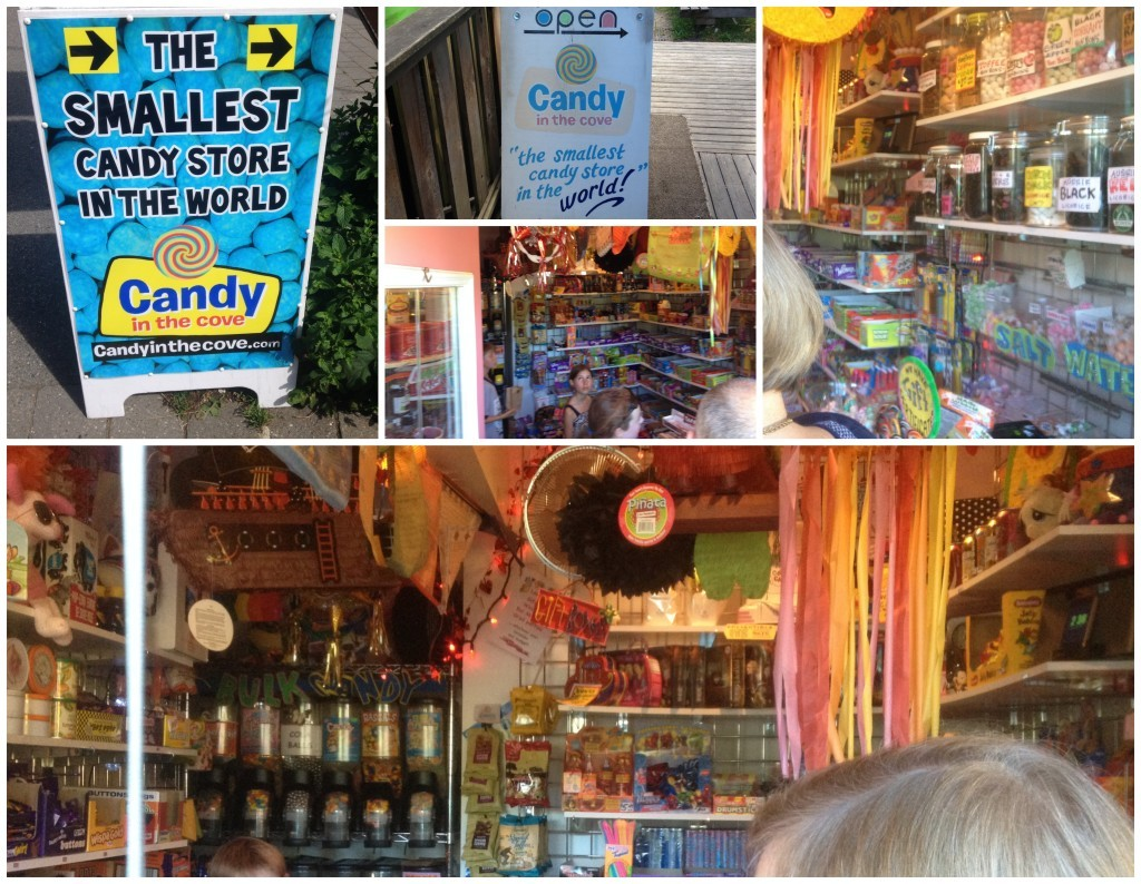 The smallest candy store in the world