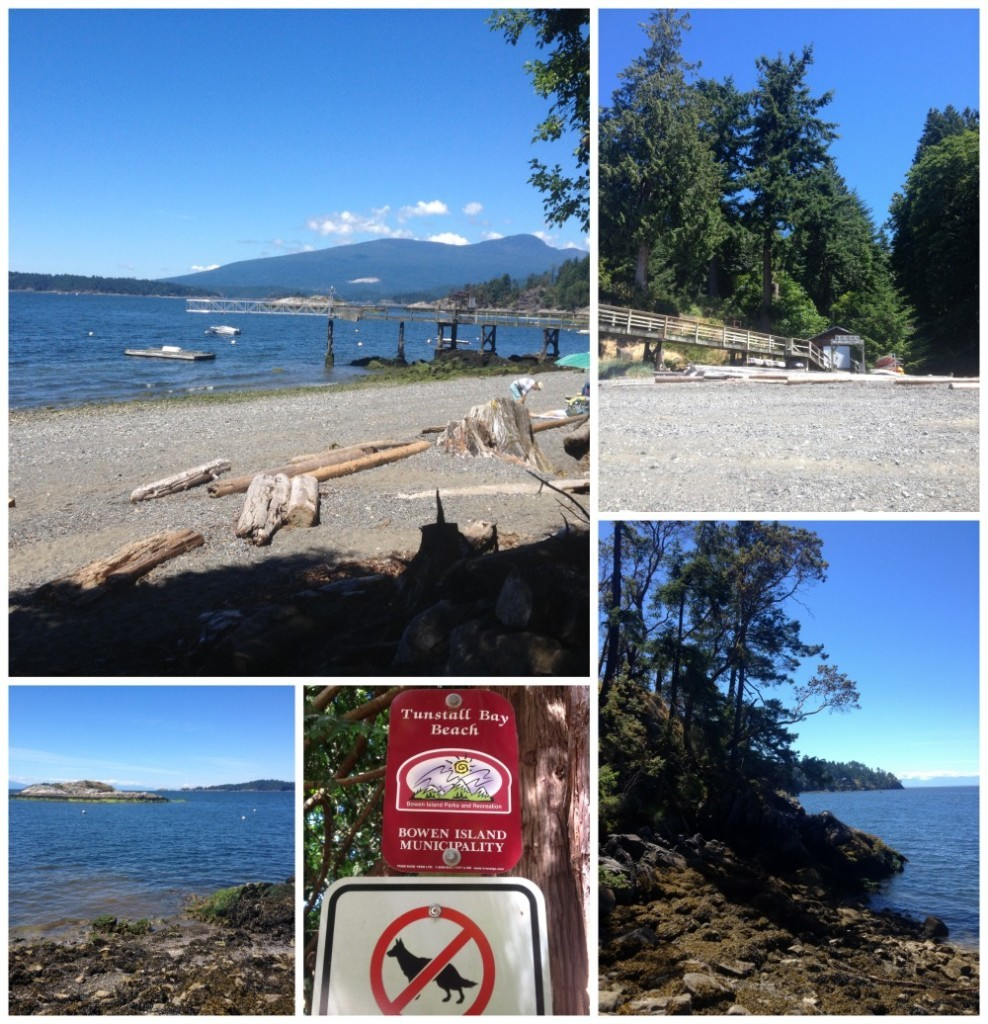 Tunstall Bay Beach on Bowen Island