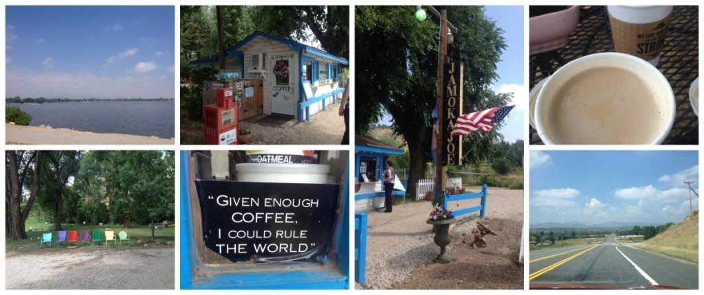 We stopped for a coffee at JamokaJoe's roadside coffee