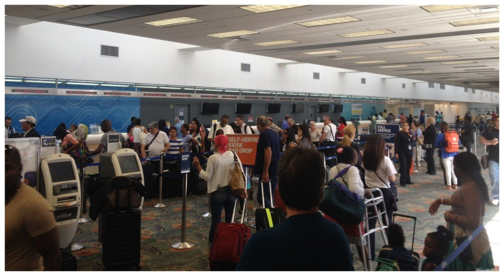 Check-In at Fort Lauderdale Airport