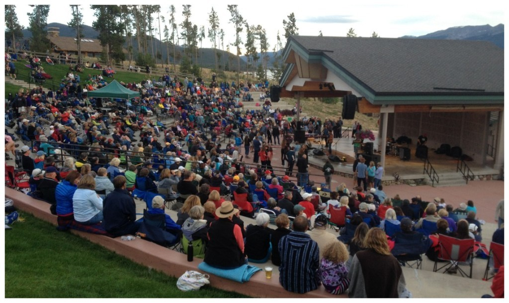 Live music every Friday durring summer at Dillon amphitheatre