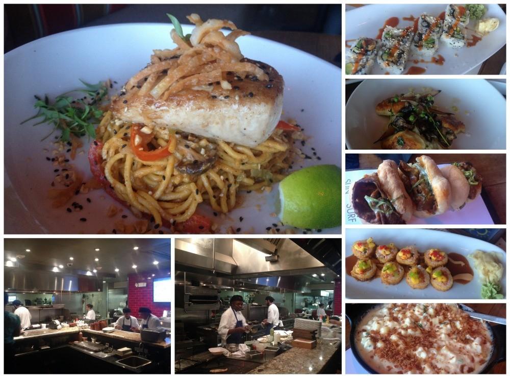 Dinner at three S restaurant