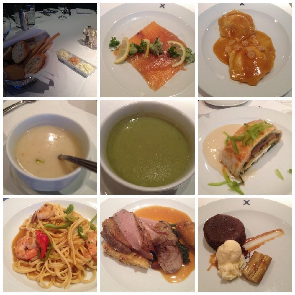 Dinner in the Metropolitan