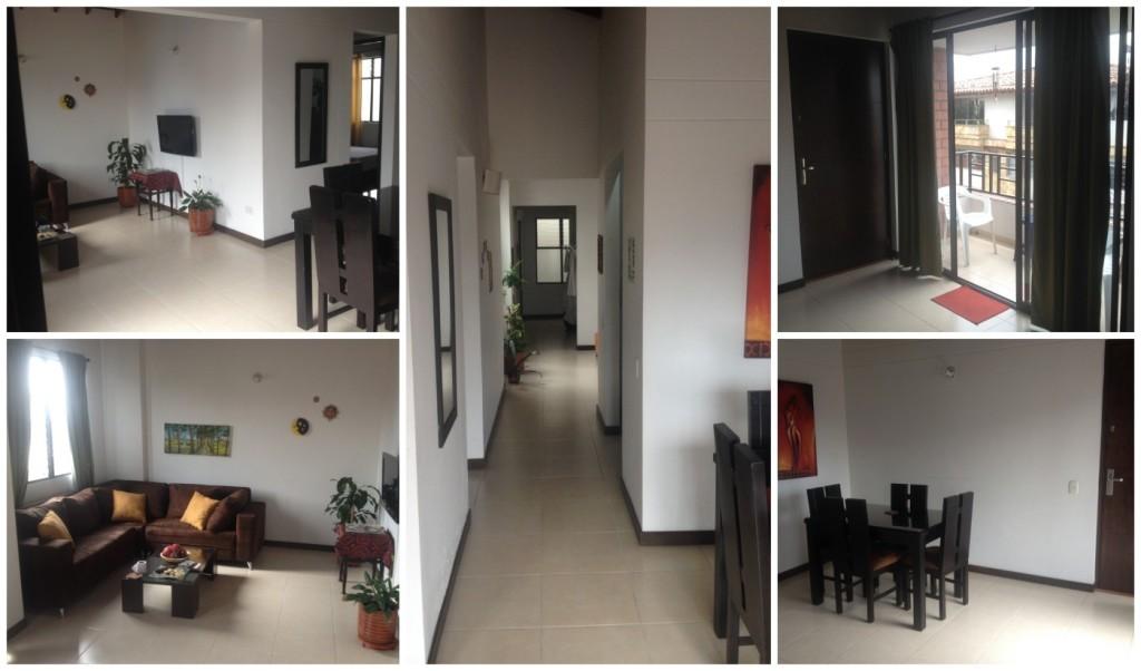 Inside Park Place apartment