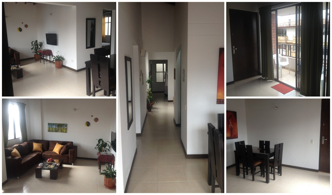 Our airbnb apartment park place in envigado for Apartment inside