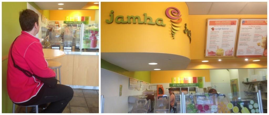 Jamba juice for breakfast