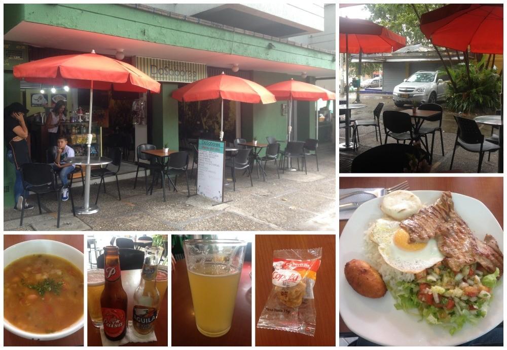 Lunch at Restaurant Do Sabores in Envigado