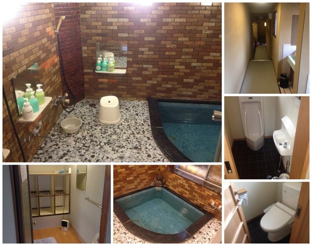 Murataya Ryokan bathroom and toilet
