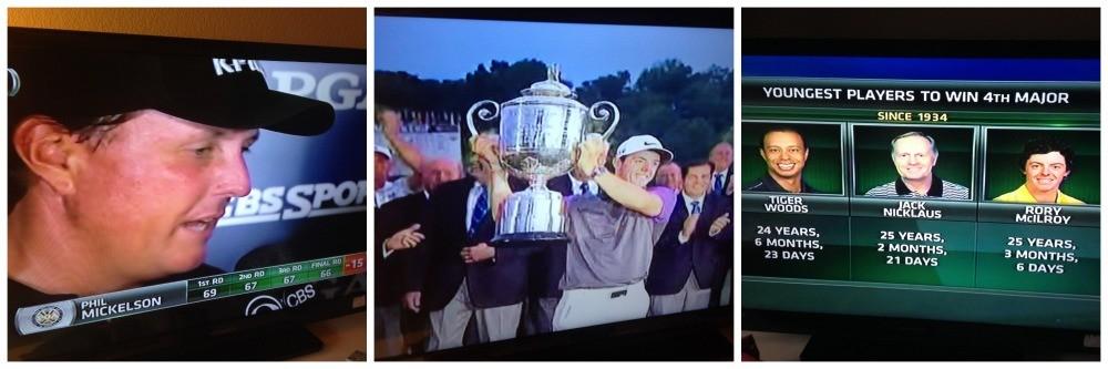 PGA golf on TV