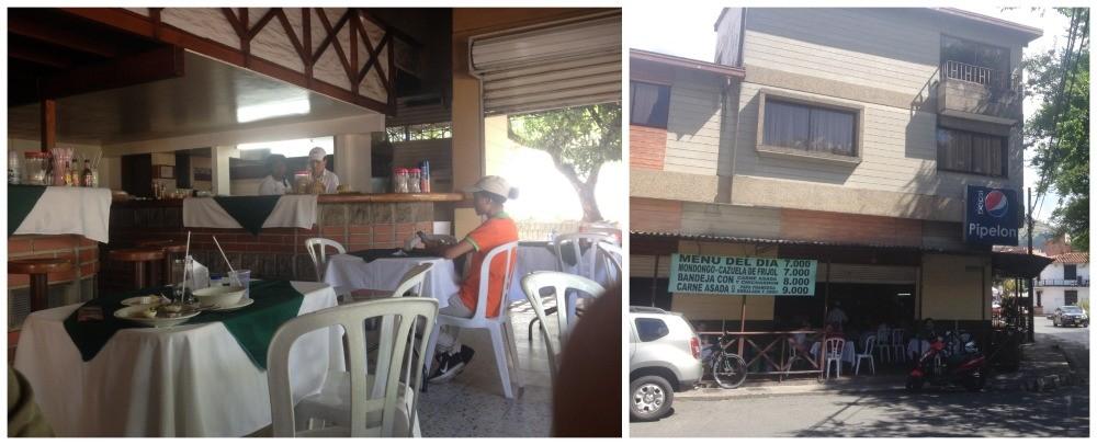Pipelon restaurant on the corner of