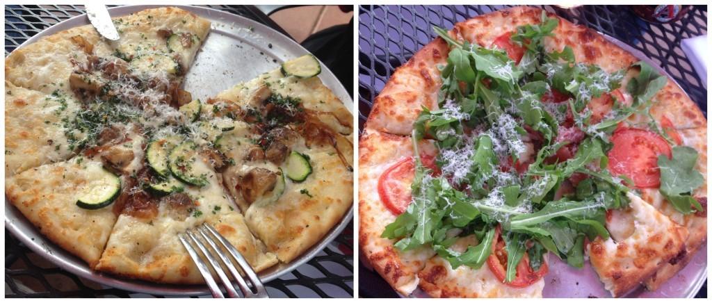 Pizza at Bagalis Italian restaurant in Frisco