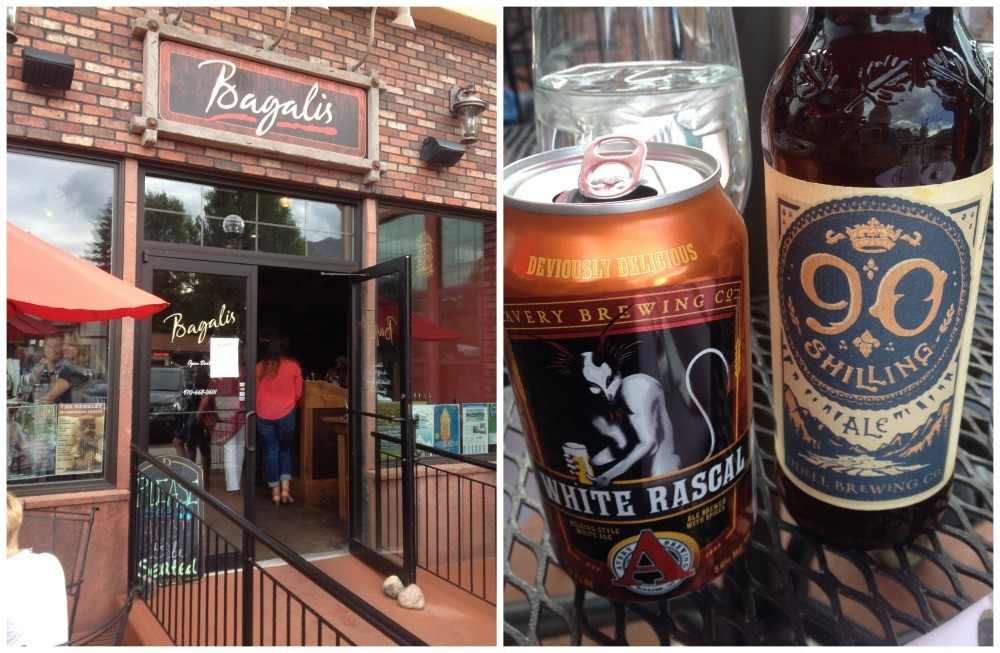 Restaurant Bagalis and our Beers