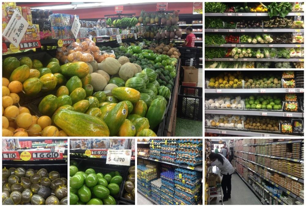 Shopping in Envigado supermarket