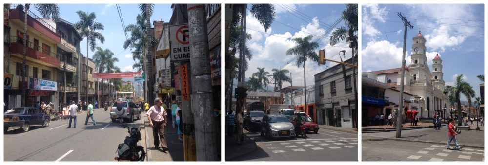 Street images from Envigado