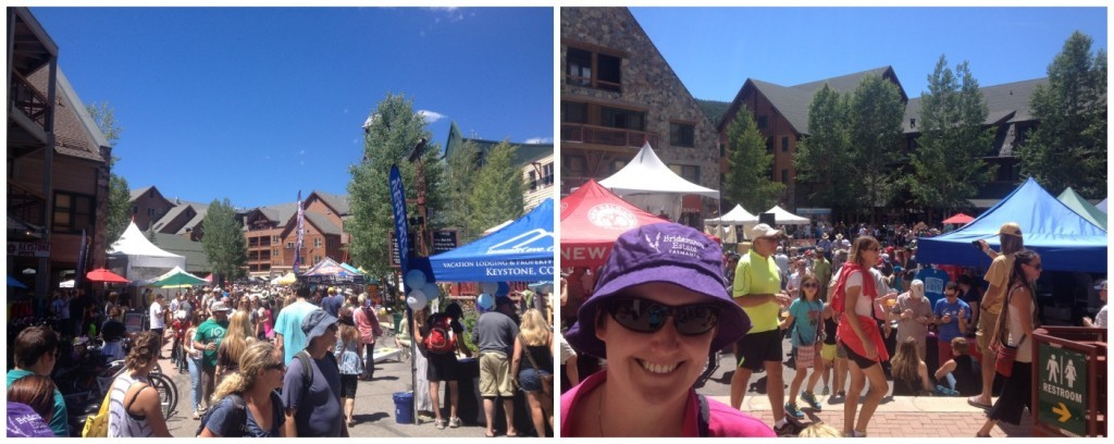 another busy festival in the River Run village at Keystone
