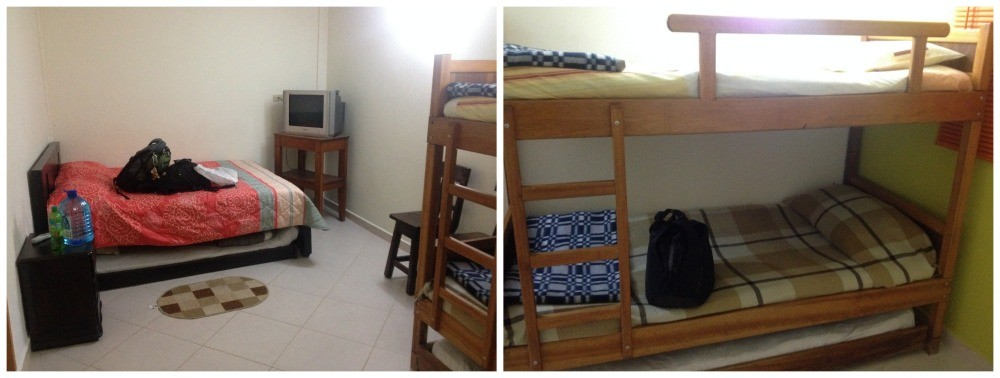 A dorm in Tomate Cafe Hostel