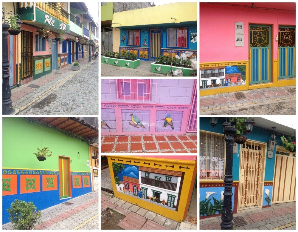 Colourful images from Guatape