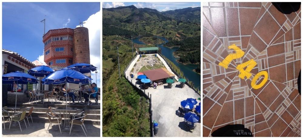 El Peñol top 740 steps