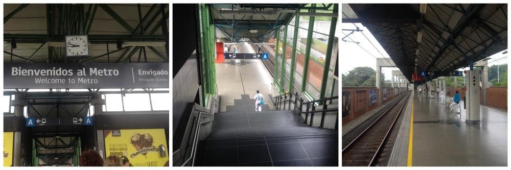 Envigado metro station