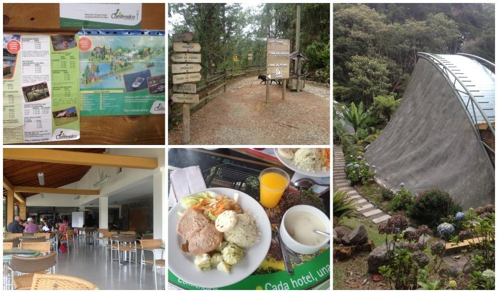 Inside the Parque Ecologico