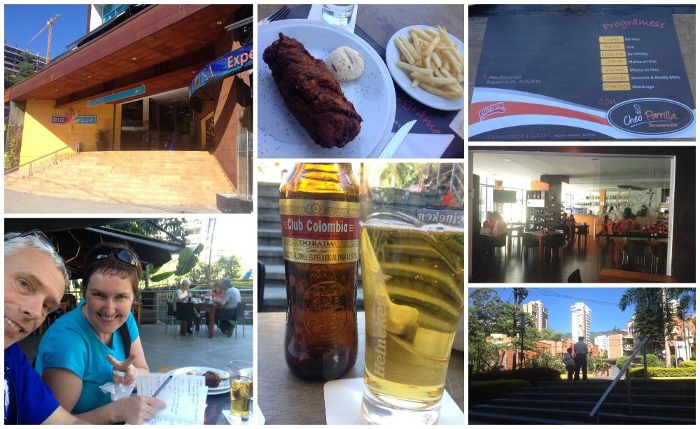 Lunch at Cheo Parrilla in El Poblado