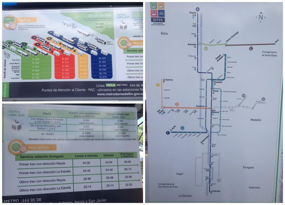 Metro plan for Medellin
