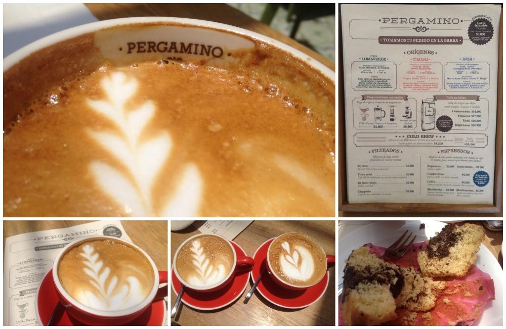 Pergamino coffee 'capuchino'