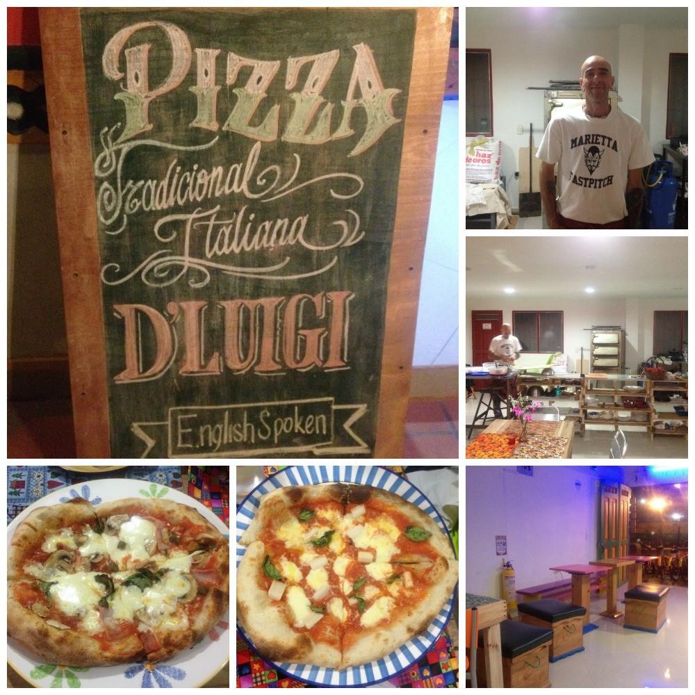 Pizza D'Luigi in Guatape