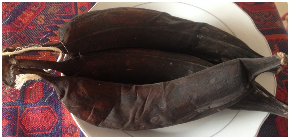 Plantains that can be eaten raw