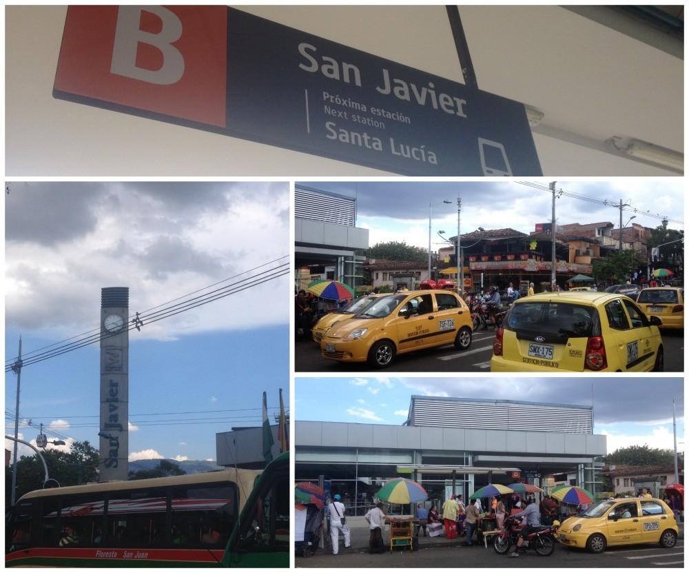 San Javier Metro station