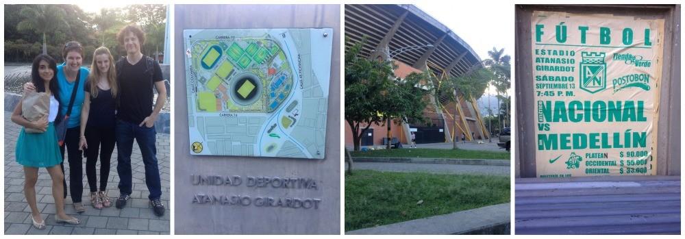The Estadio Atanasio Giraddot in Medeilln