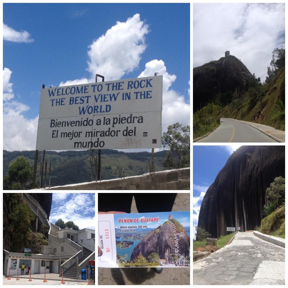 The Rock El Peñol Guatape