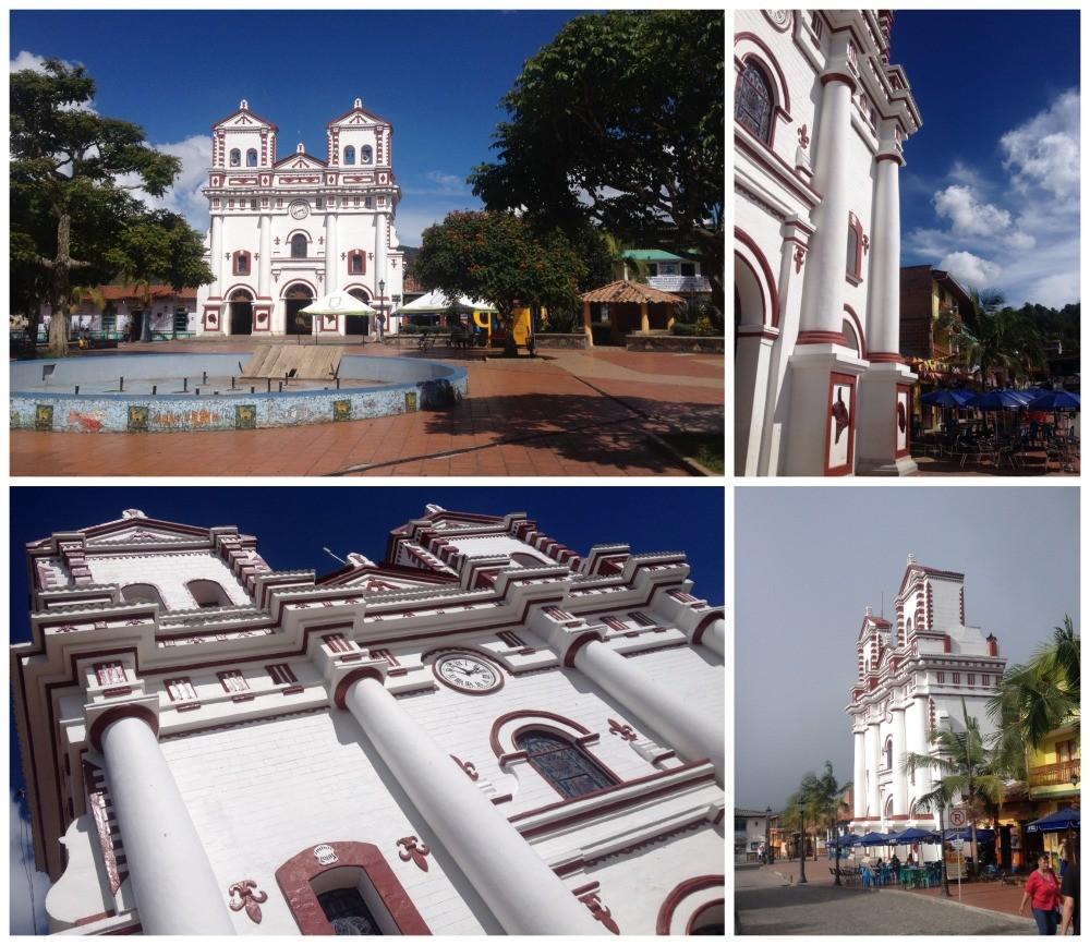 The imaculate church of Guatape