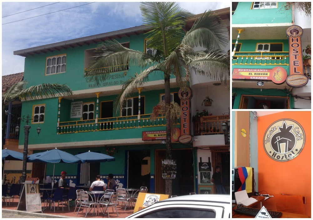 Tomate Cafe Hostel in Guatape, Colombia