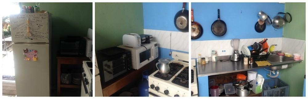 Tomate Cafe Hostel kitchen