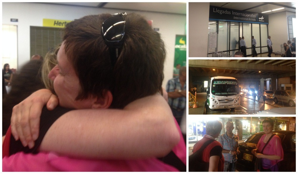 Ursula arrives in Medellin