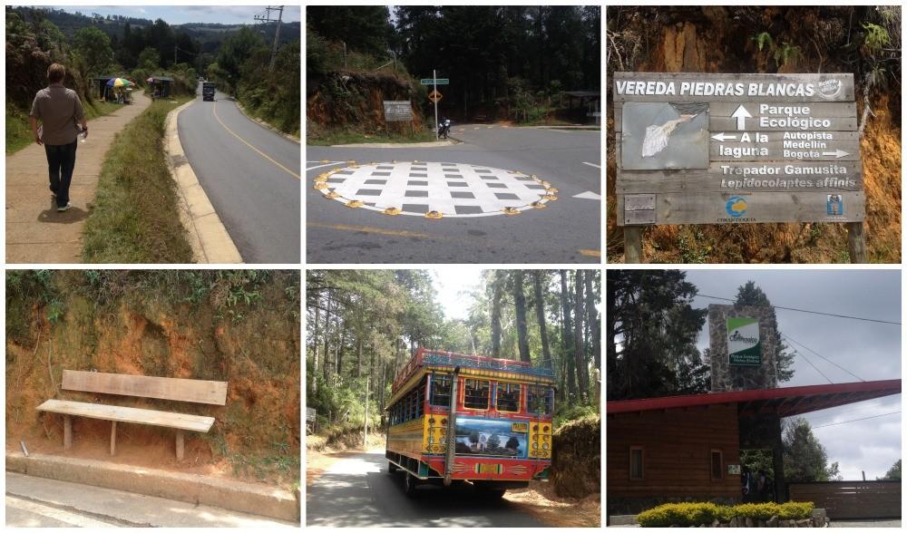 Walking to Piedras Blancas & Parque Ecologico