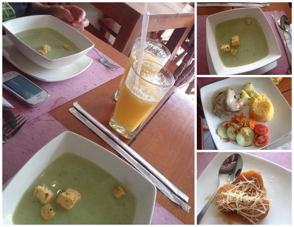Restaurante El Supreme lunch