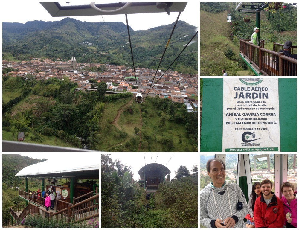 Cable car in Jardin