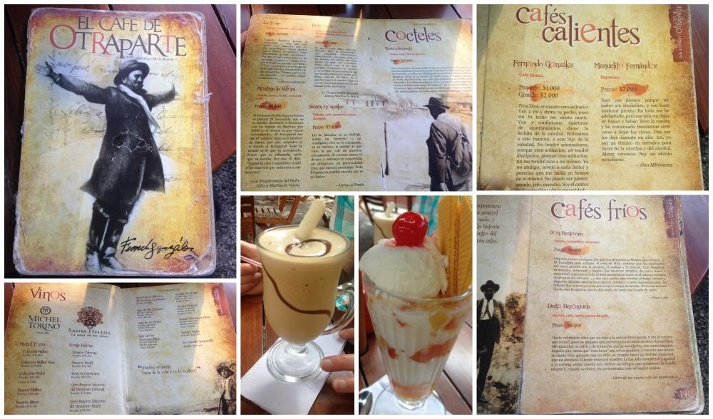El Cafe de Otraparte in Medellin