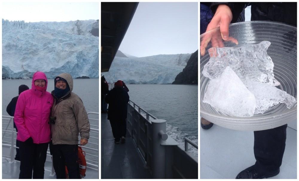 Holgate Glacier in Alaska